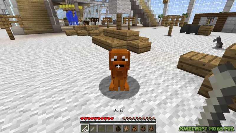 мод на собаку в майнкрафт 1.7.10 #6