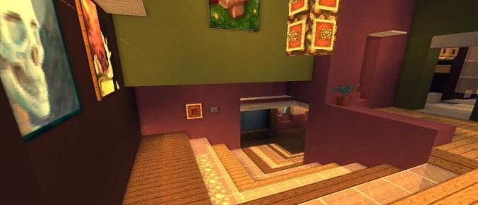 скачать карту для майнкрафт 1 12 2 дом хай тек без мебели