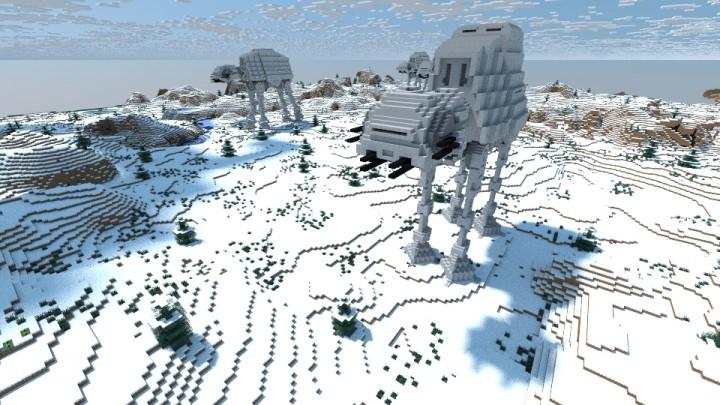 майнкрафт карта star wars