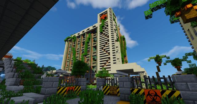 Скачать карту большой реалистичный город для майнкрафт 1. 13 все.