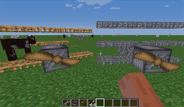 Картинки: Моды на самолеты для Minecraft с видео обзорами (Картинки)