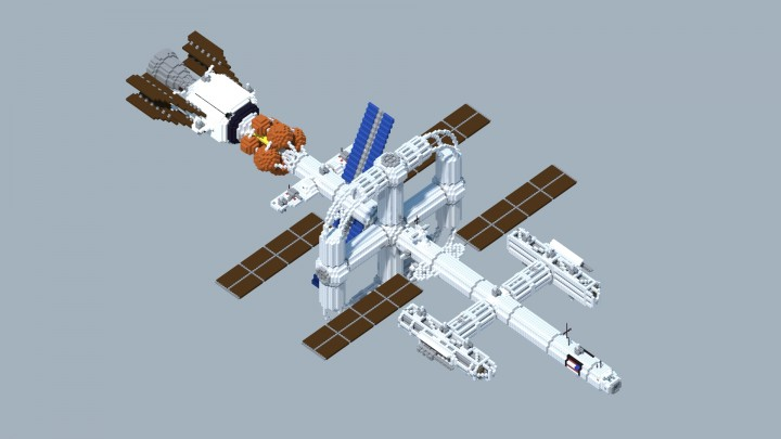 Minecraft space station map download 152
