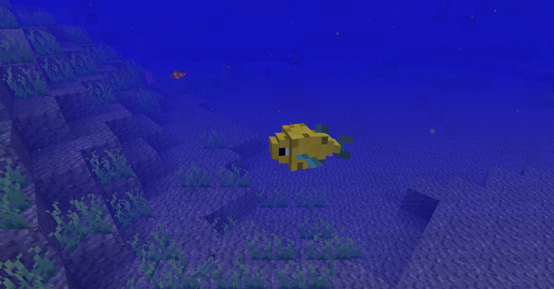 Мод на майнкрафт на риби