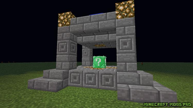 Lucky block chaos v. 2. 6 [1. 8. 9] (лаки блоки хаоса) › моды.