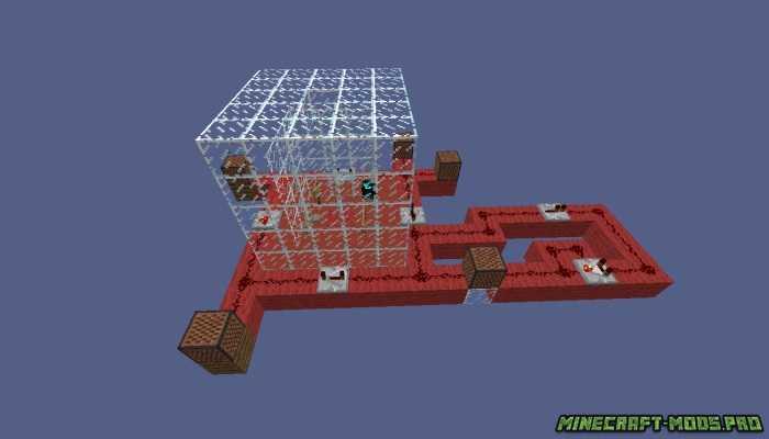 Карта с Механизмами для Minecraft