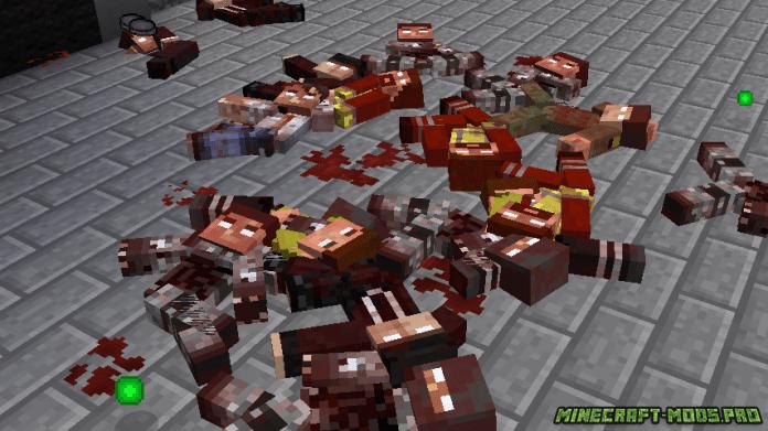 моды на майнкрафт 1.7.10 на зомби апокалипсис #10
