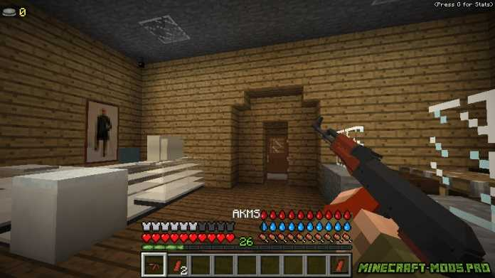 Мод на зомби апокалипсис Decimation 1.7.10 для Minecraft