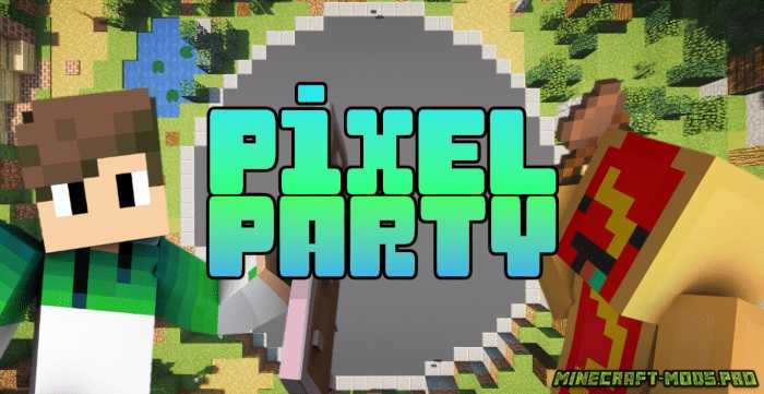Карта Pixel Party (9 мини-игр)