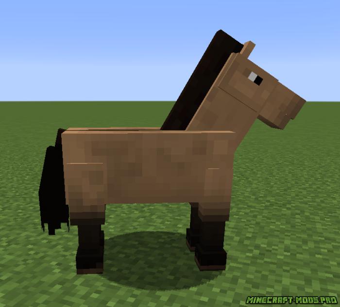 Лошади в майнкрафте картинки