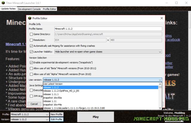 скачать майнкрафт лаунчер со всеми версиями на компьютер через торрент - фото 8