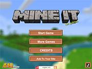 Логотип зрелище Mine IT